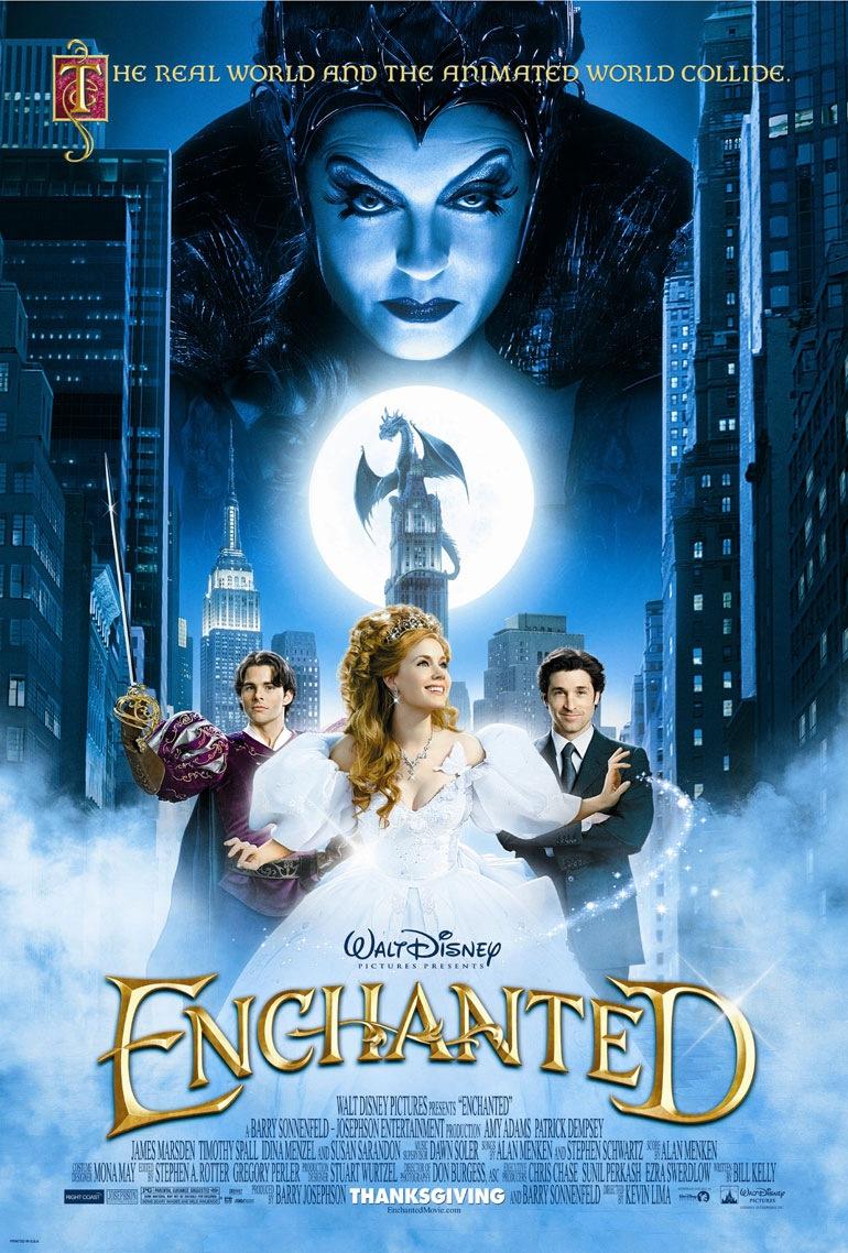 Disneys Enchanted Movie Poster